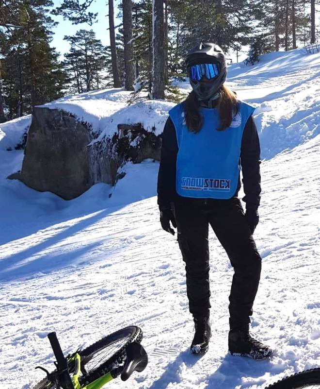 Martine Gurrich vant Snowstock 2020