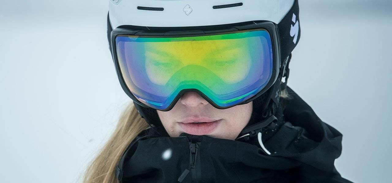 Slik skal en bra match mellom hjelm og goggle se ut