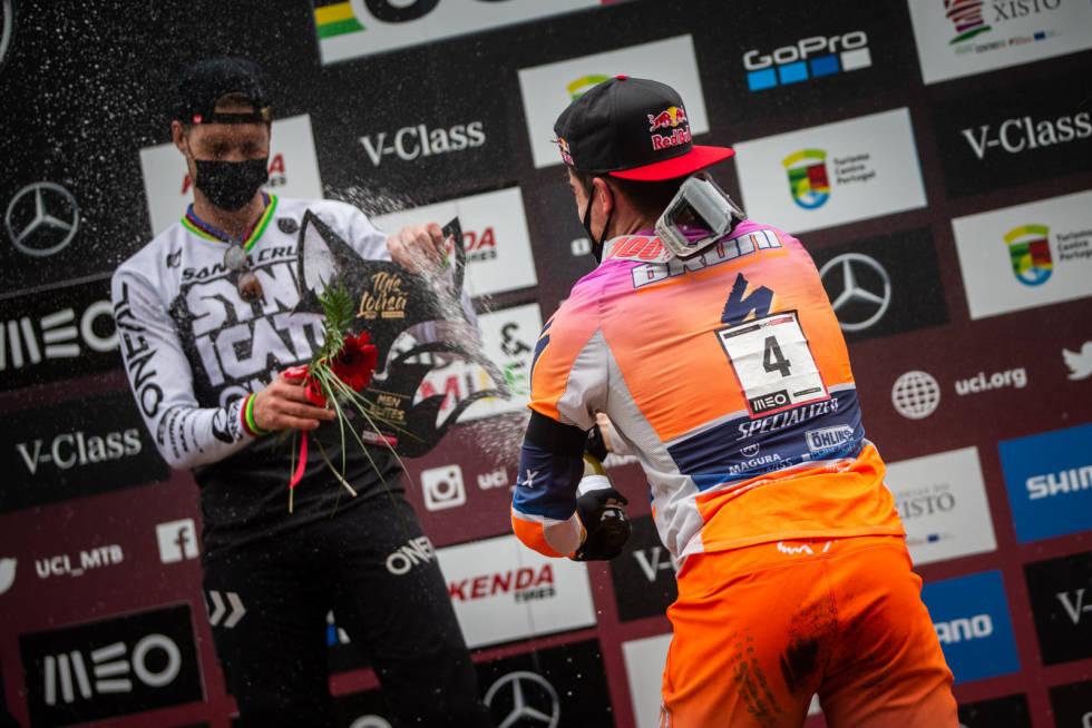 Greg Minnaar og Loic Bruni