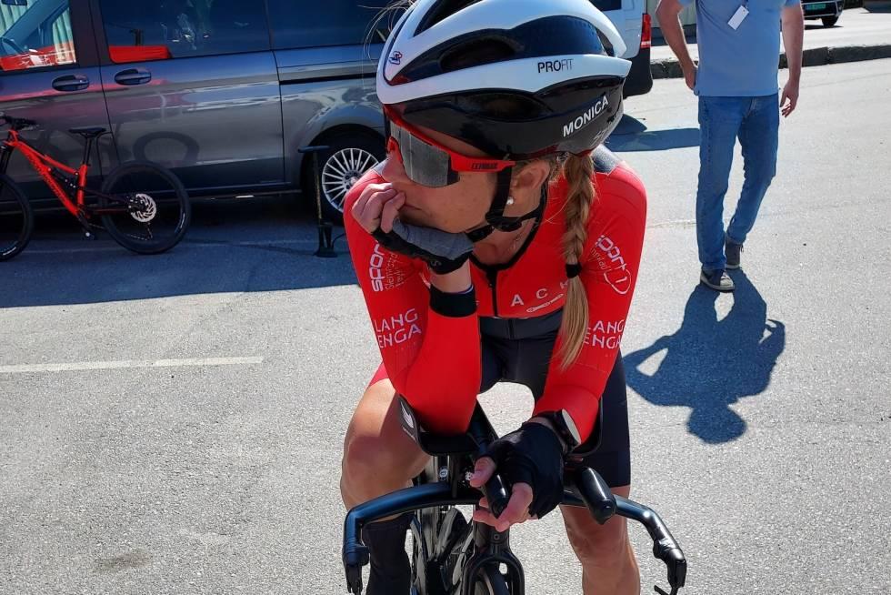 Monica Storhaug er klar for å sette rekord på 200km tempo