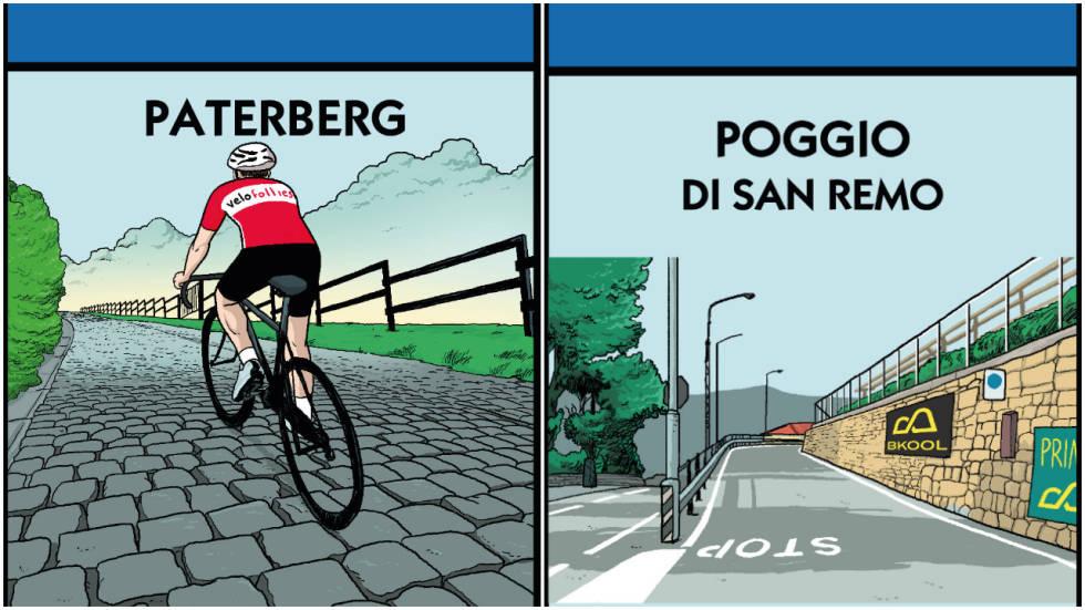KJØP POGGIO: Eller kanskje du må betale leie for å sykle i den legendariske bakken kjent fra Milano-Sanremo?