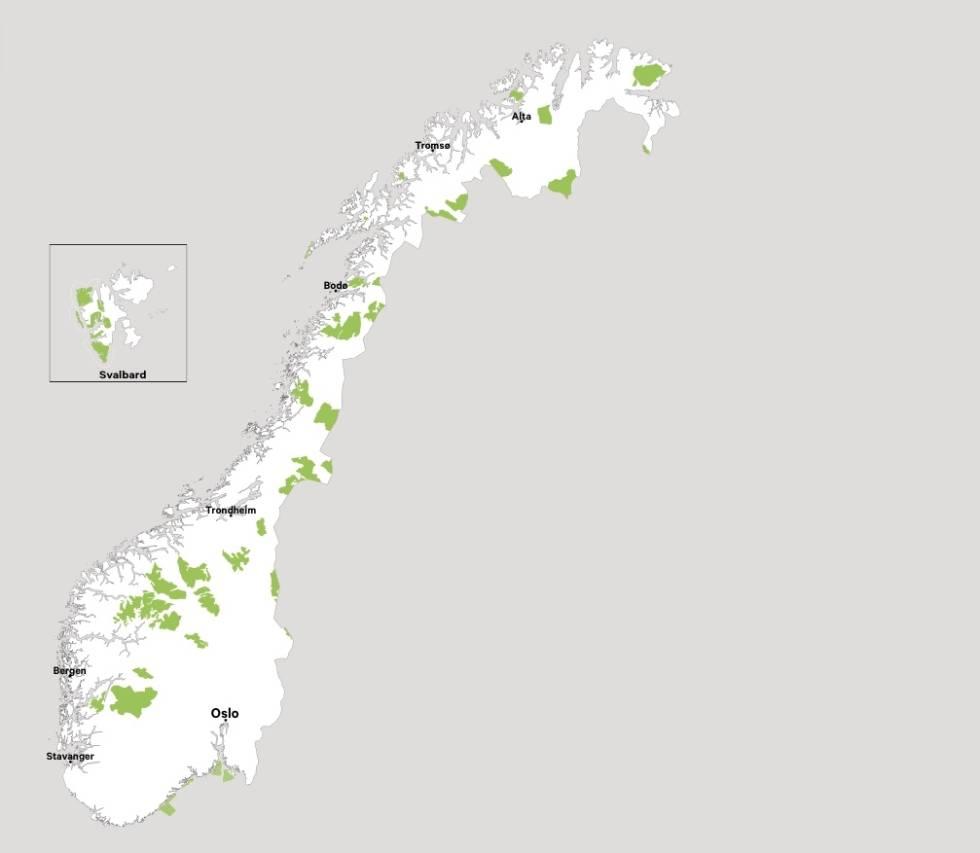 nasjonalparker i norge