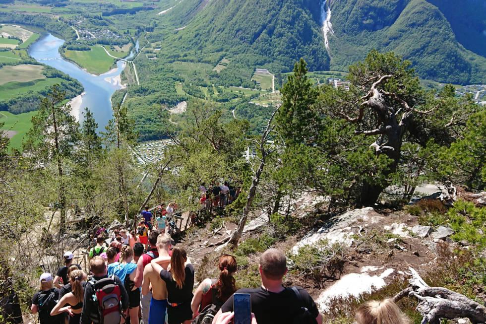 Nesaksla Åndalsnes Romsdalen Rampestreken