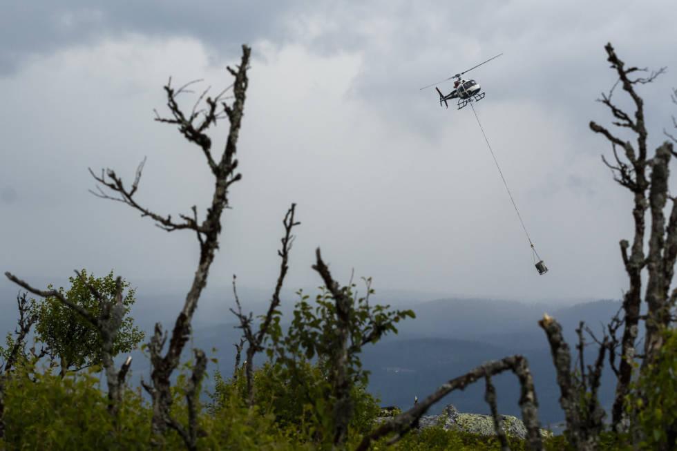 nesbyen stisykling hallingdal helikopter hallingspranget