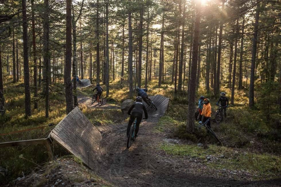 Drammen skisenter. Foto: Svenn Fjeldheim