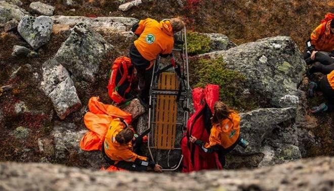 De frivillige på redningsoppdrat i Romsdalen