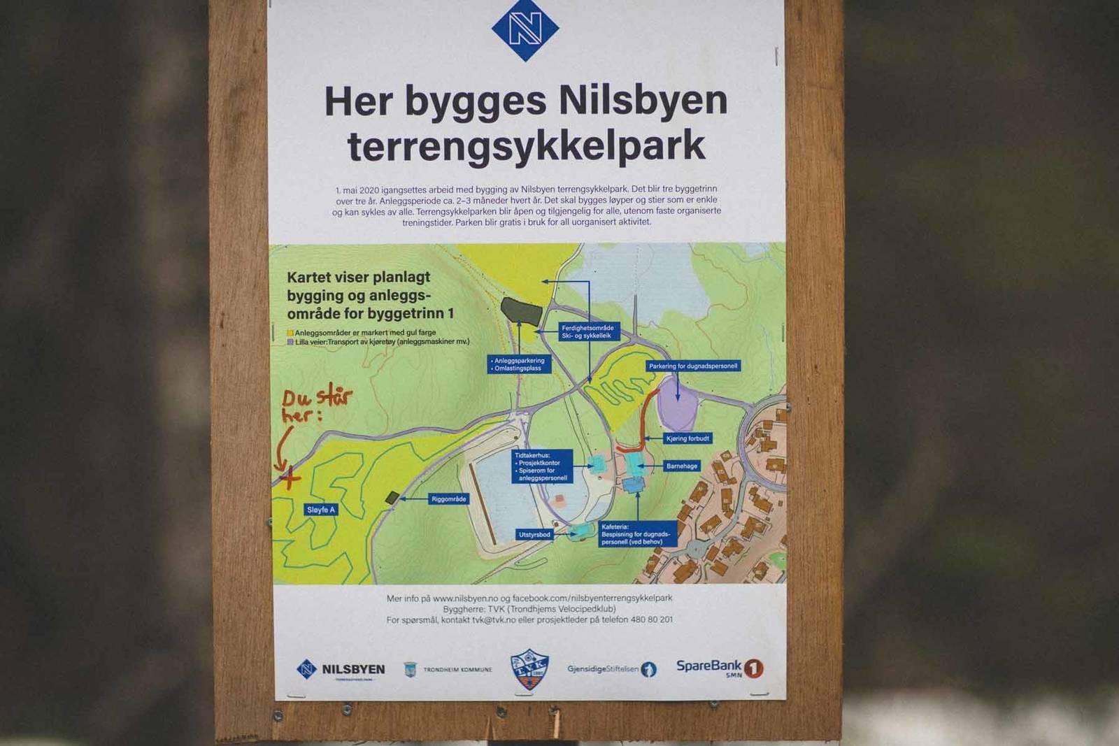 nilsbyen sykkelpark trondheim