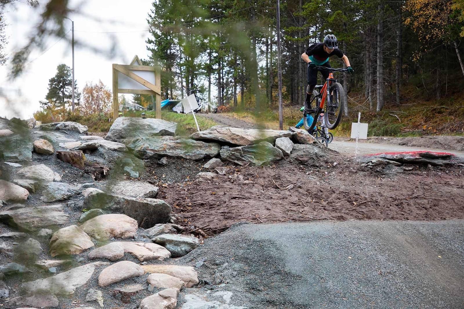 nilsbyen terrengsykkelpark hopp dropp