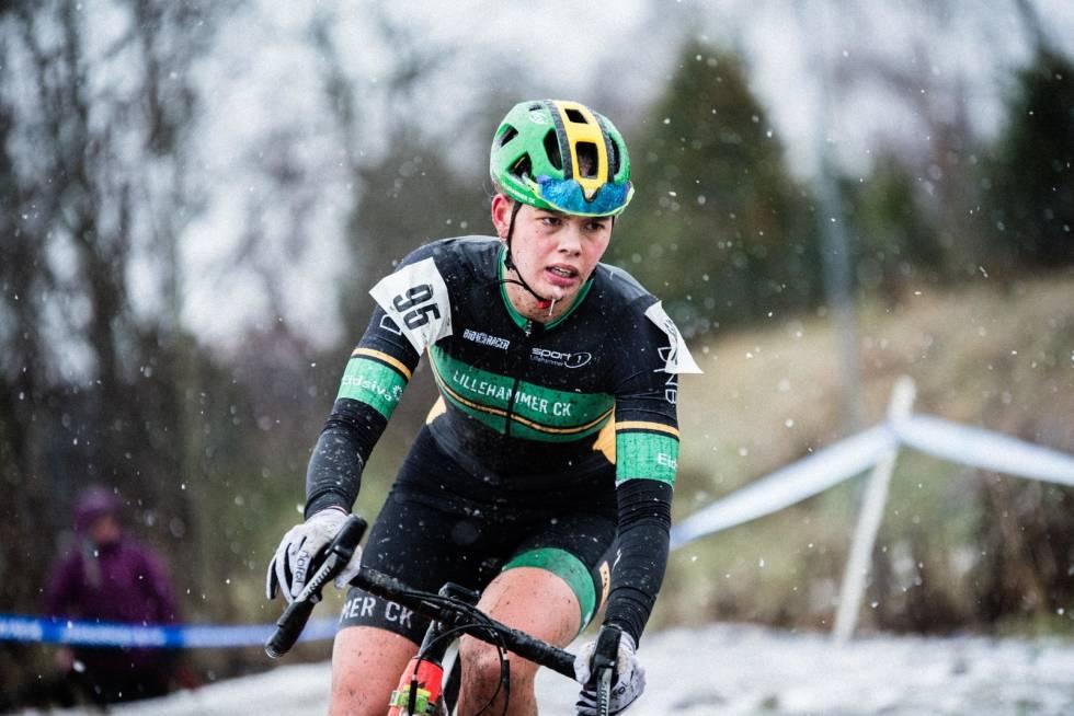 BRONSE: Sigrid Andrea Fløgstad fra Lillehammer CK.