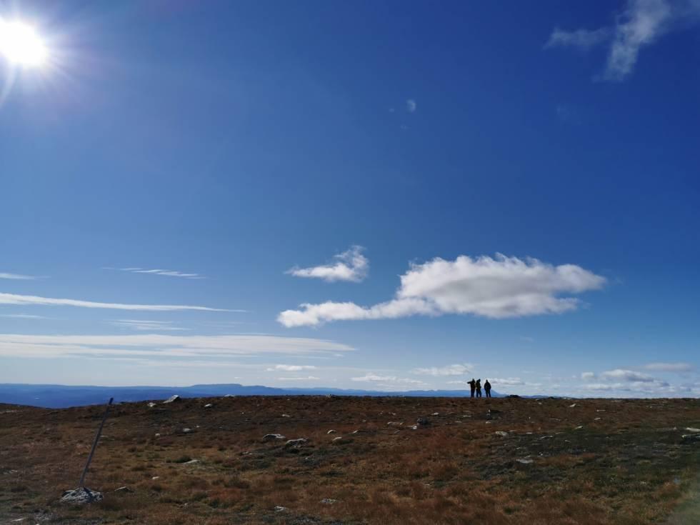 norefjell fjelltur høst