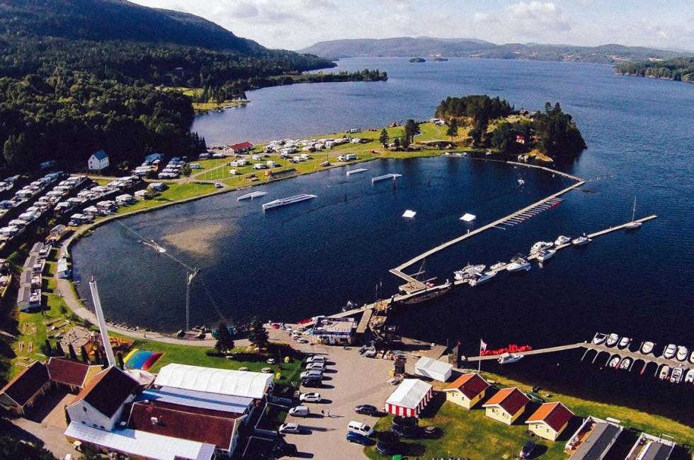 wakeboard norsjø ferieland kabelpark