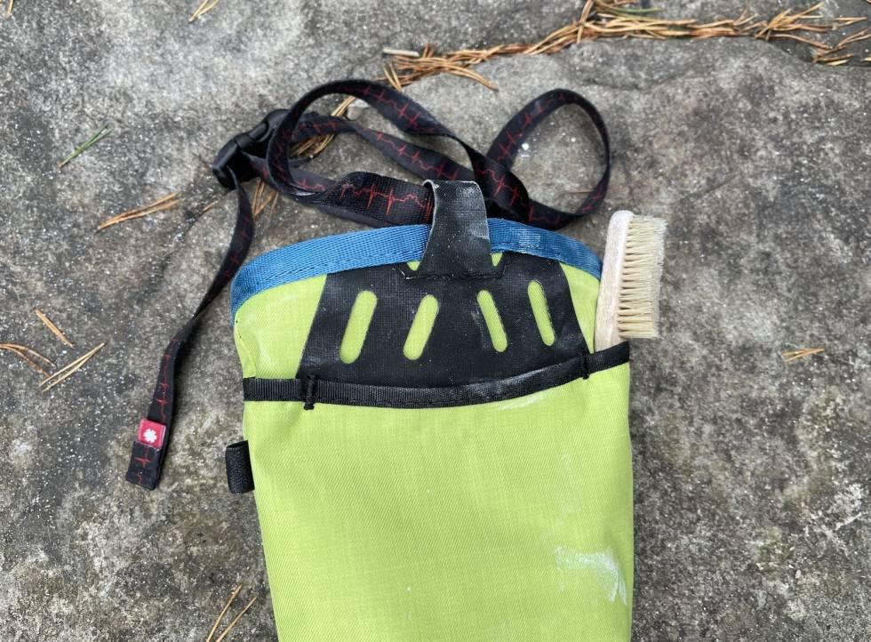Ocun Push Chalk Bag kalkpose test