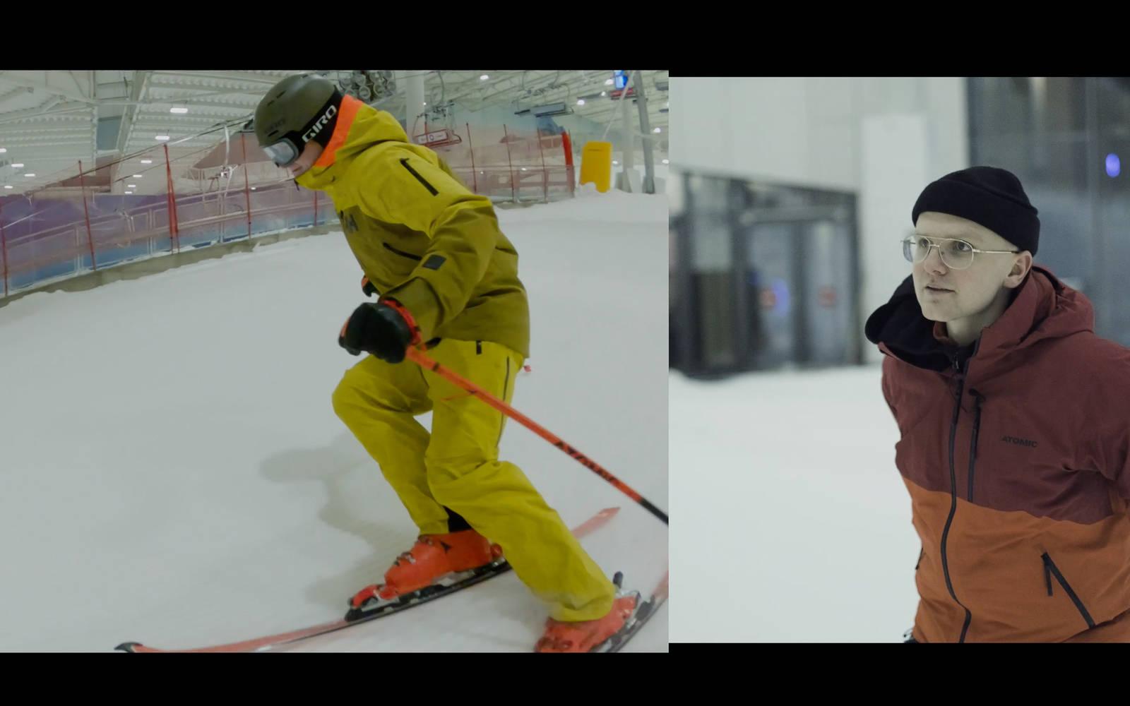 Øystein Aasheim ski Snø Lørenskog innendørs