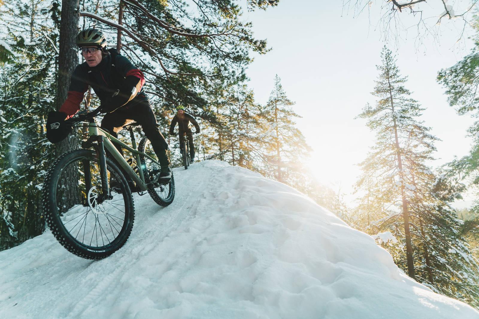 Stier går seg ikke selv. Aas og Mørstad gir tips om hvor det er bra å sykle.