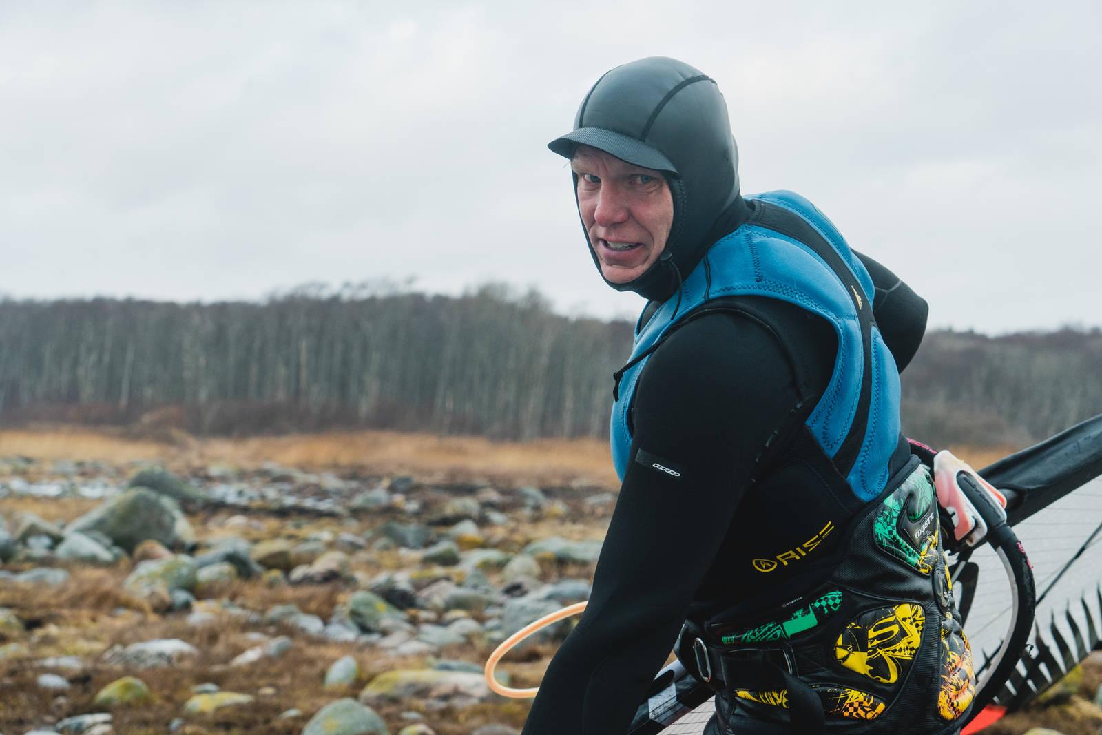 Olav Bleivik Saltstein windsurfing