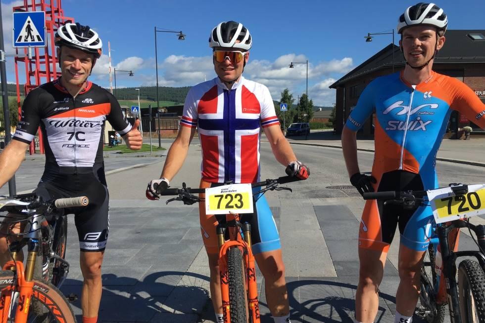 Ole Hem, Emil Hasund Eid og Fredrik Haraldseth utgjorde sammenlagtpallen i Trans-Østerdalen 3-dagers 2020