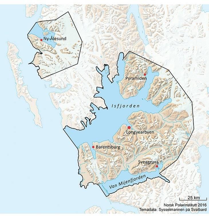 Område 10 Svalbard