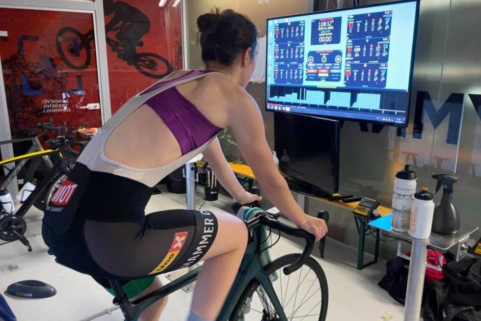 tv rulle sykling zwift