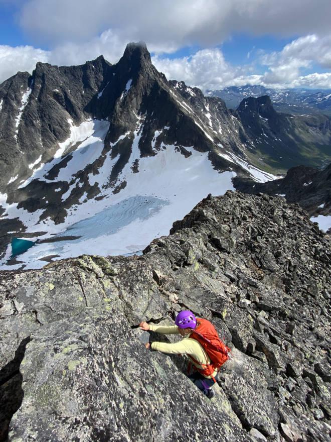 test fjellklatresekk Ortovox Trad 35