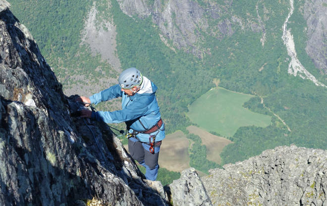 test klatrebukse fjellklatring Ortovox