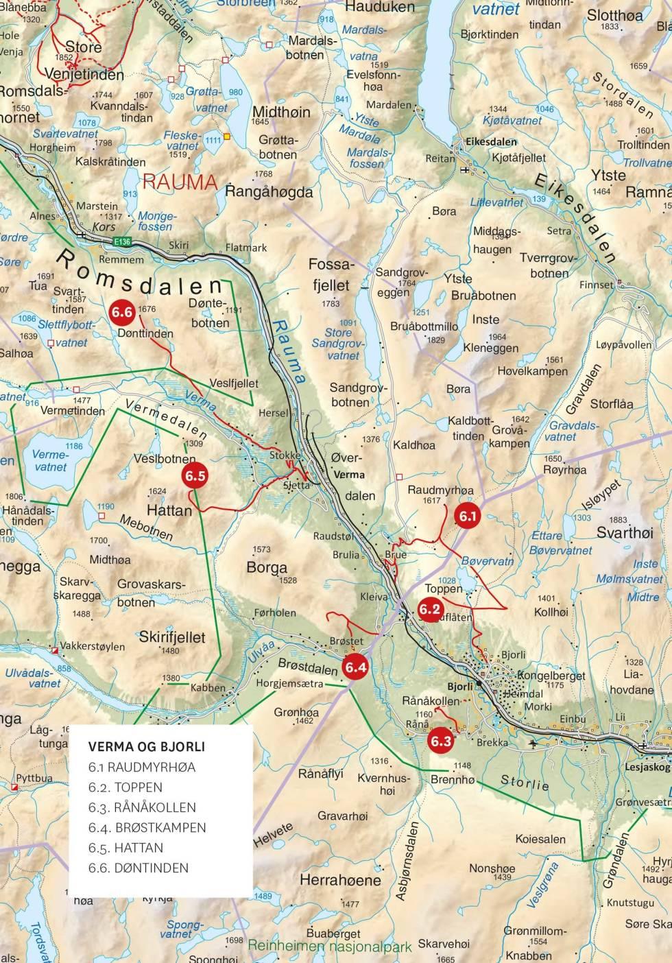 Oversiktskart-Verma-Bjorli-Toppturer-i-Romsdalen