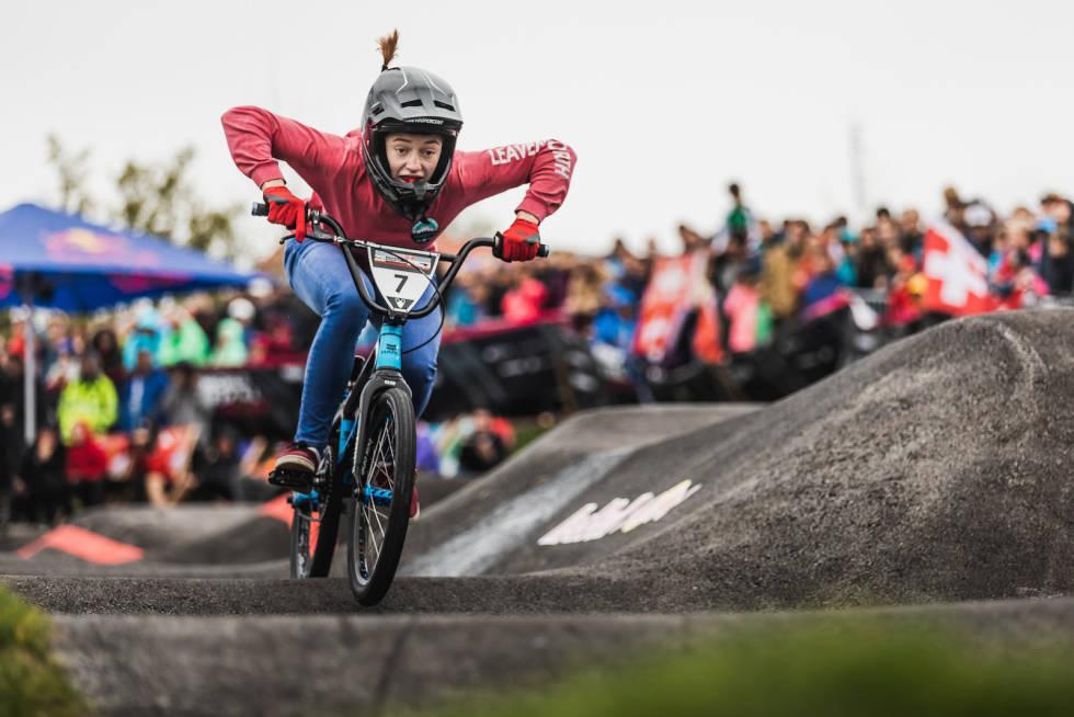 Ridenour vant pumptrack-VM 2019