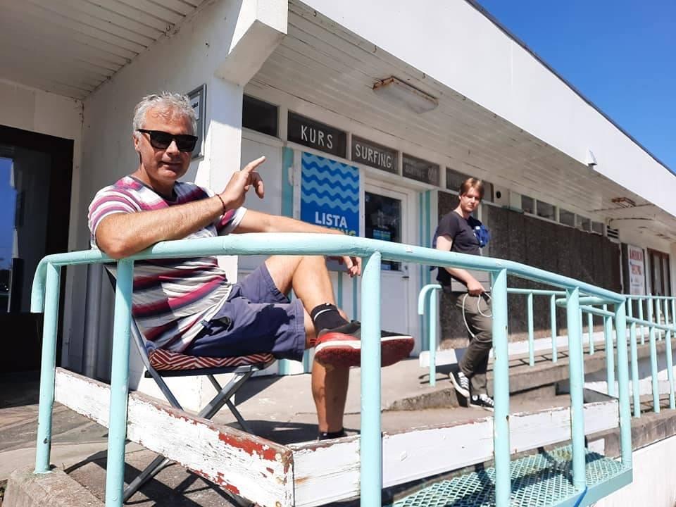 LOKAL: Per Christian Brodschöll er bosatt på Lista og har engasjert seg i vannsportmiljøet her over en årrekke. Bilde: Privat