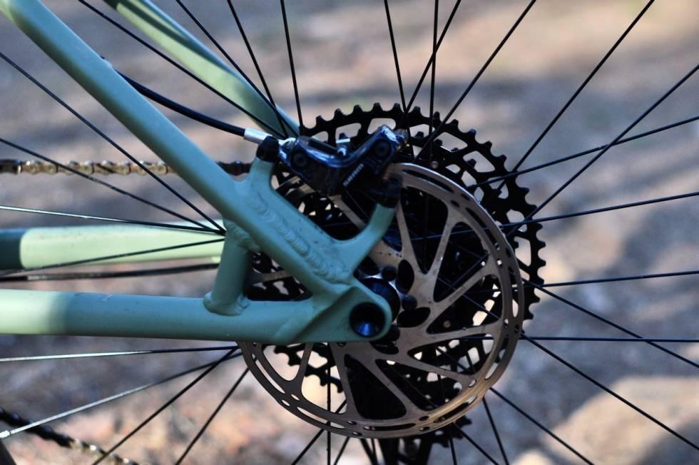 post mount skivebremser sykkel