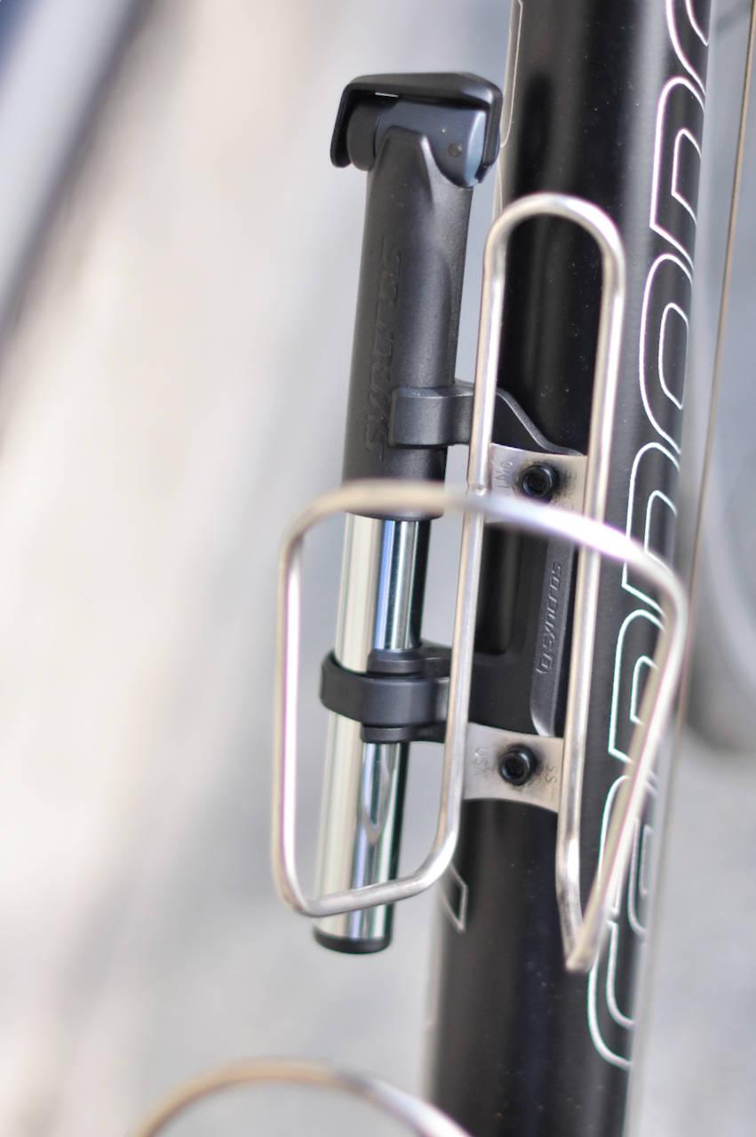 Syncros minipumpe på sykkelen