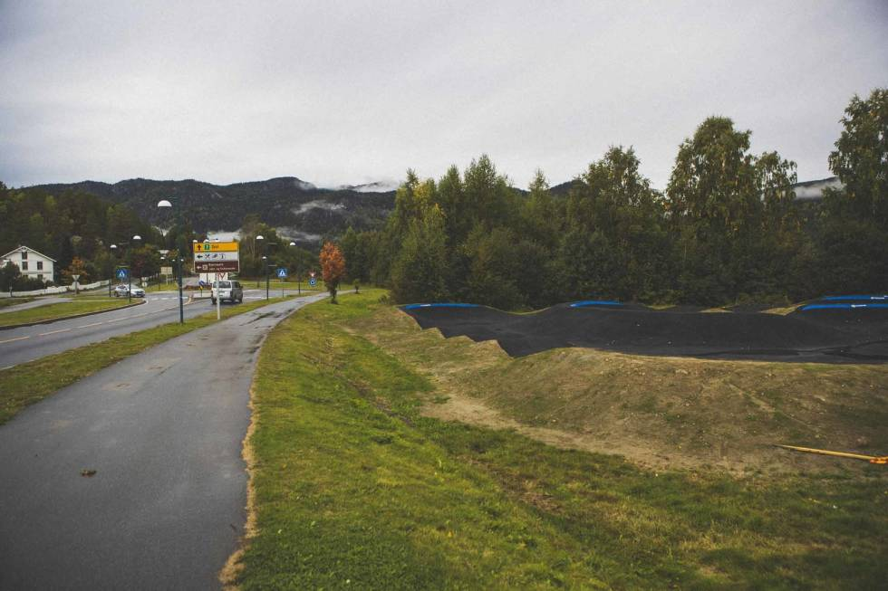 pumptrack i Flå hallingdal