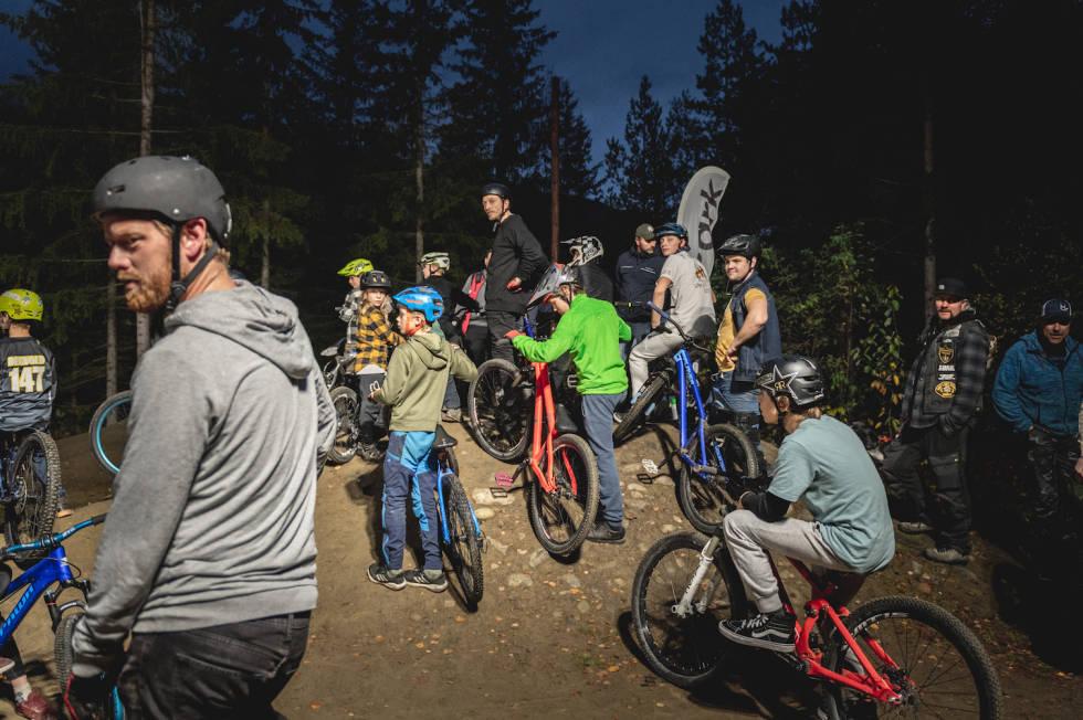 pumptrack Hafjell bike park 2021