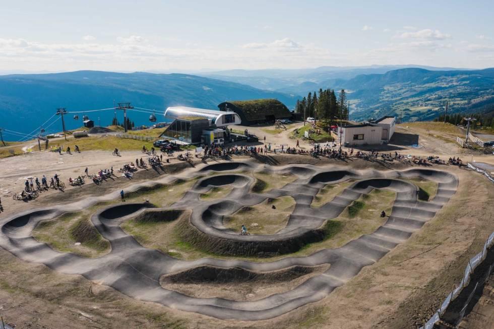 pumptrack hafjell bike park