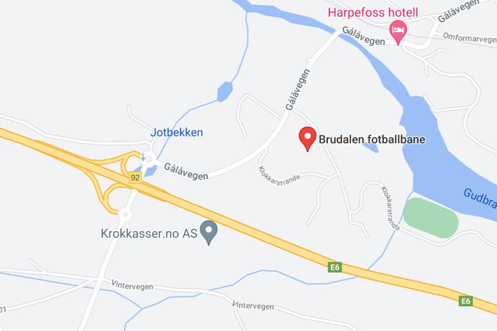 Pumptracken I Brudalen på Harpefoss