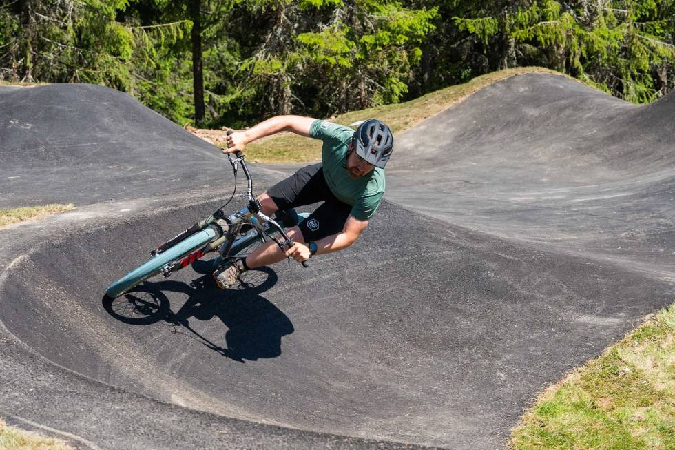 pumptrack trysil bike arena