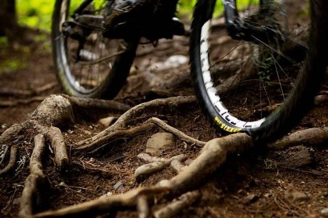 dekk punktering sykkel