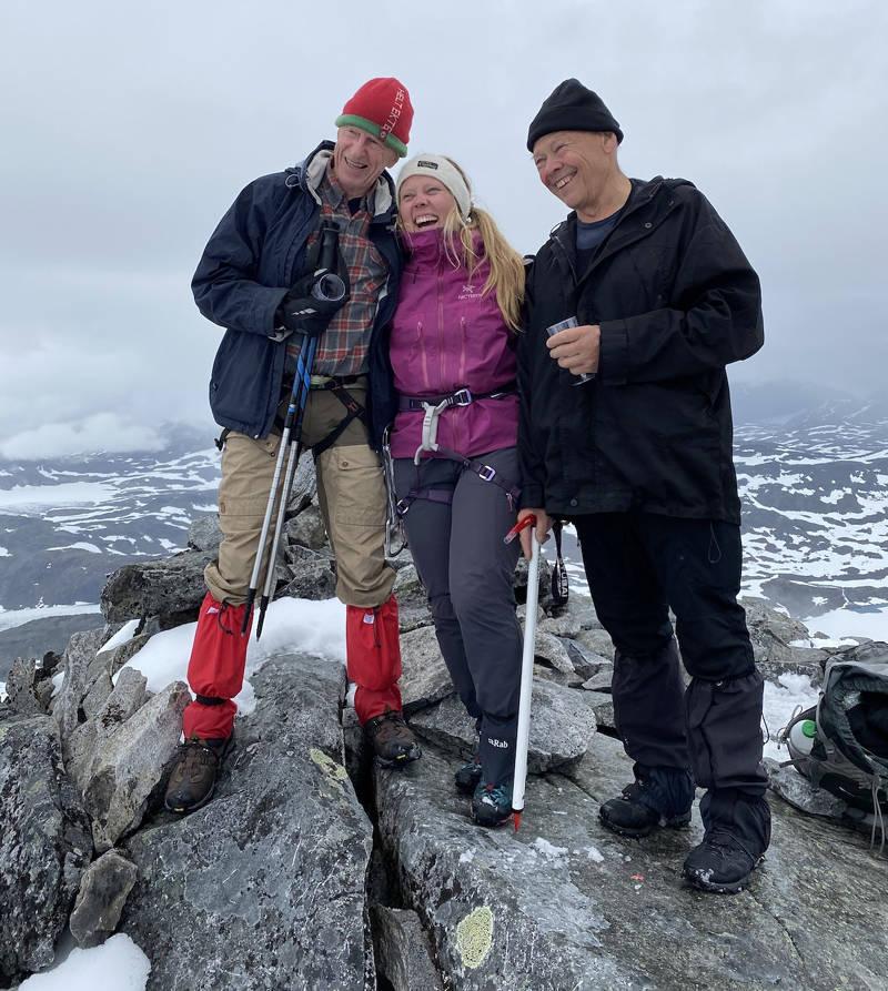 Faketind Jubileum Ralph Høibakk Anders Opdal Norsk Klatring