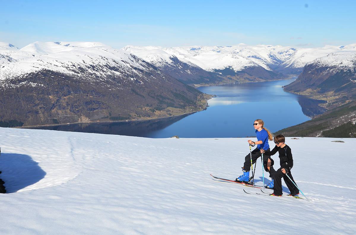 Randonee ski Jølster