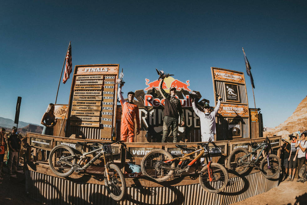 Pallen i red bull rampage 2019