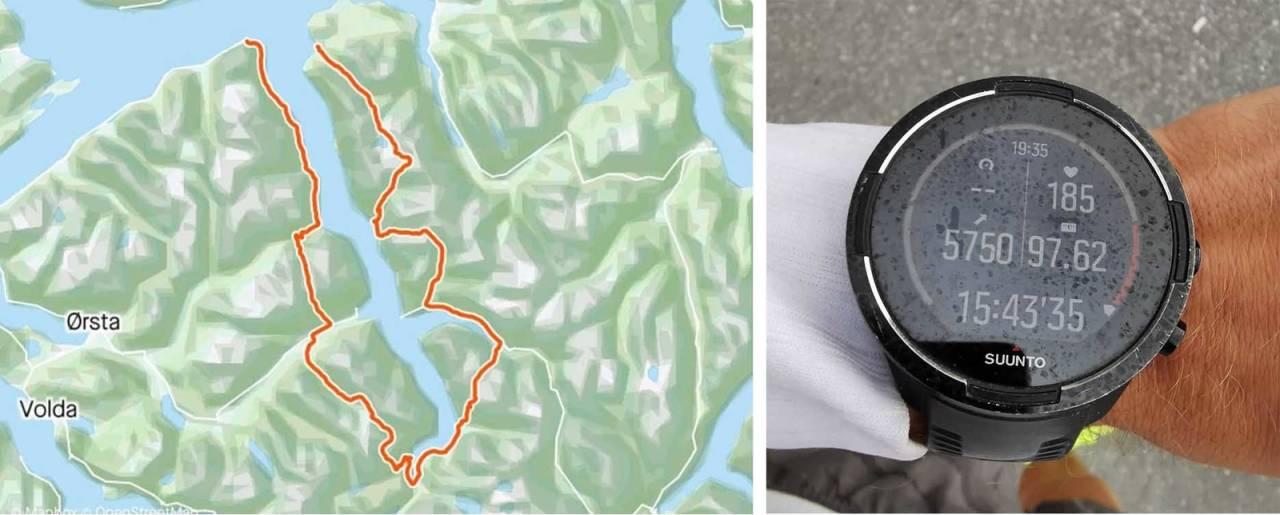 hjørundfjorden rundt rekord