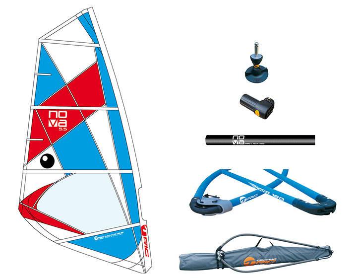 Nybegynner rigg windsurfing