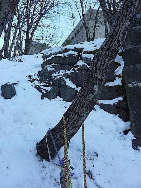Siste stand på Nye Vemorkfoss. Foto: Dag Hagen