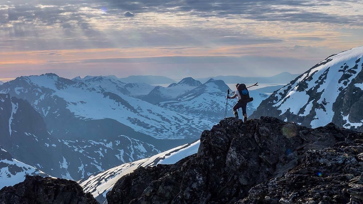 Alnestind fjellski Trollstigen
