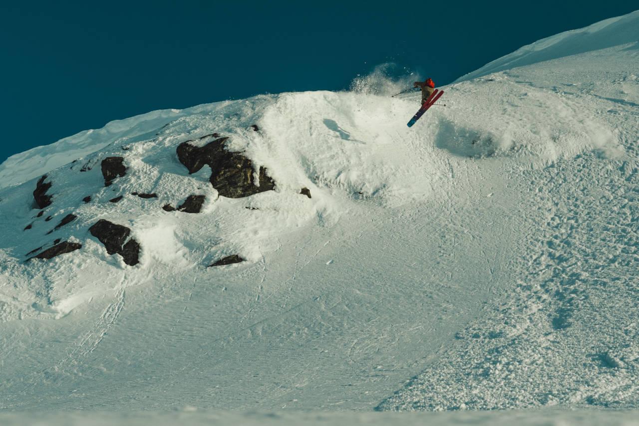 Helt siden Robert Aaring var liten, har ski handlet om lek. Det gjør det fortsatt. Bilde: Christian Nerdrum