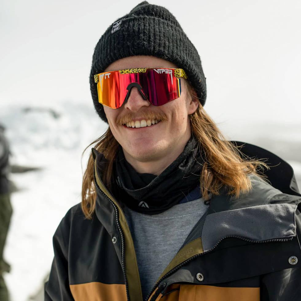 Tidligere freeskier, nå frikjører Robert Ruud, er vant med at trening må til for at skikjøringen skal bli som han forventer. Bilde: Stian Holt