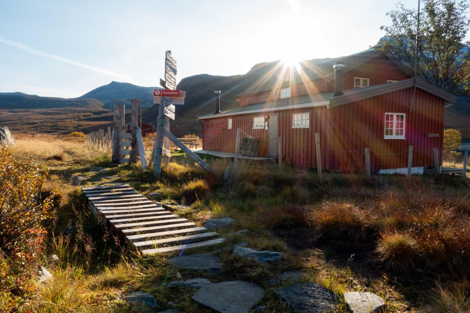 MÅSVASSBU: Ankomst dag to. Foto: Remi Reksten