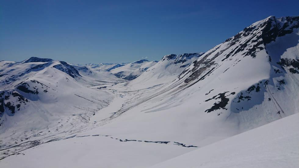 Skredbaner Romsdalen topptur randonee norge utemagasinet fri flyt