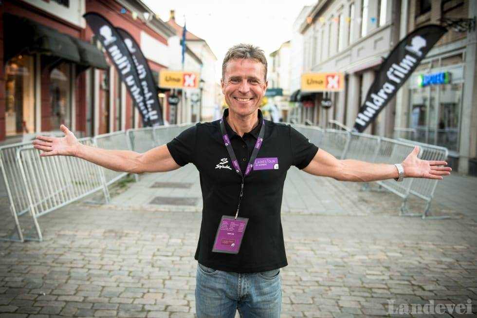 roy moberg er rittdirektør i Ladies Tour of Norway