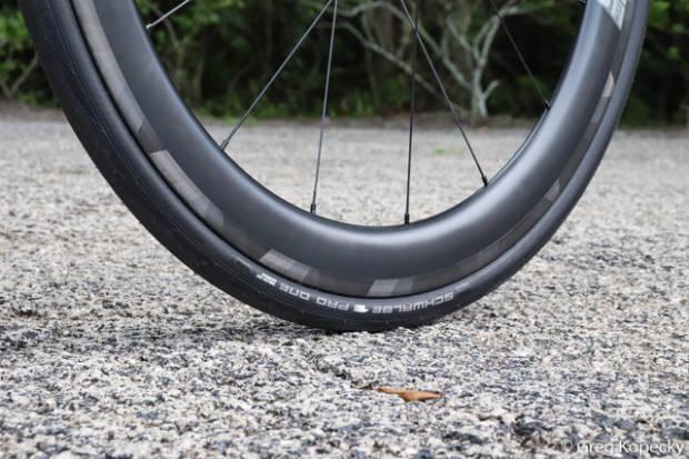 måling av rullemotstand på sykkeldekk