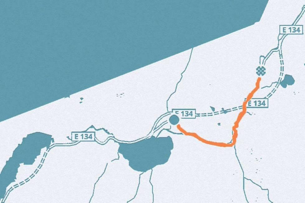 Rullestadjuvet kart sykkel landevei