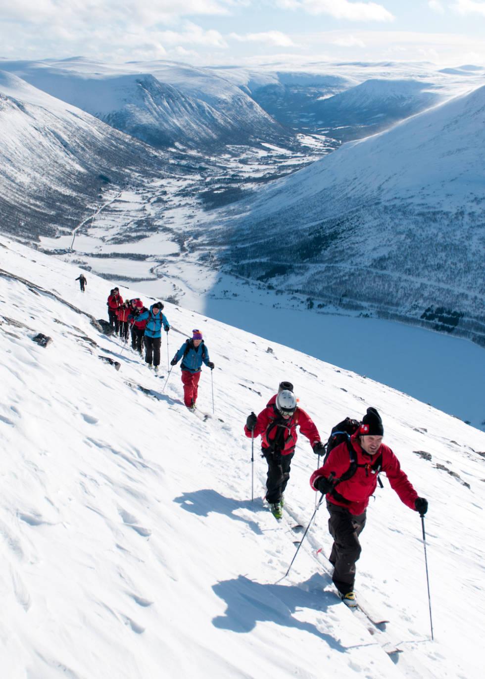 Topptur Oppdal Norge